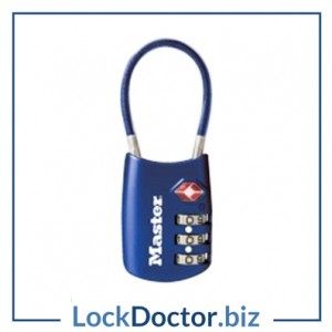KML4688 Master TSA Combination Padlock & Cable