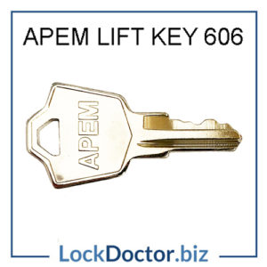 APEM 606 Mobility Scooter Key