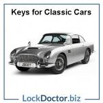 Aston Martin Classic Car Keys
