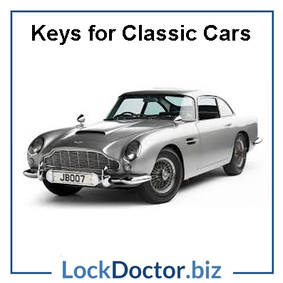 Aston Martin Classic Car Keys