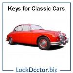Jaguar Classic Car Keys
