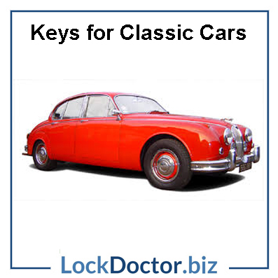 Jaguar Classic Car Keys