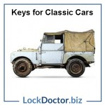 Land Rover Classic Car Keys