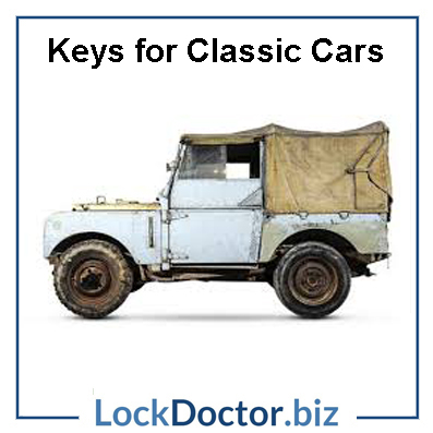 Land Rover Classic Car Keys