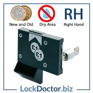New ASSA Pound Coin Return Lock RH Dry Area