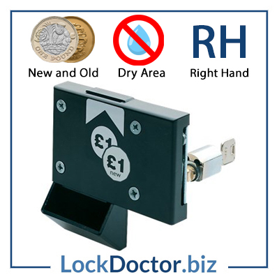 New ASSA Pound Coin Return Lock RH Dry Area