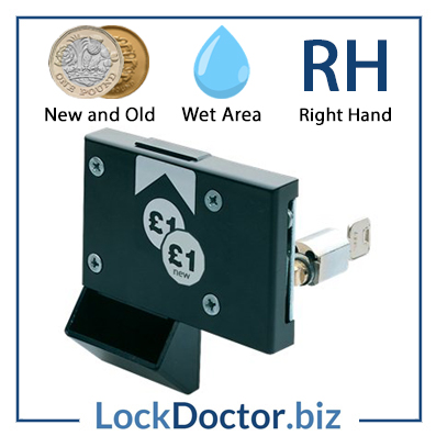 New ASSA Pound Coin Return Lock RH 4