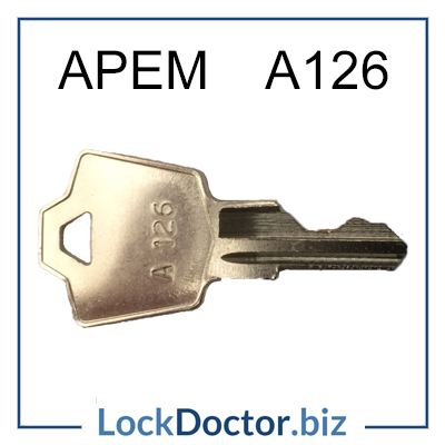 A126 APEM Universal Pass Key available next day from lockdoctorbiz