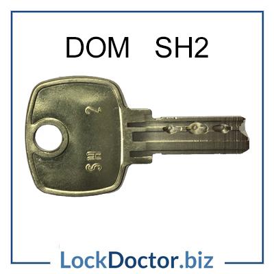 DOM SH2 LIFT KEY from Lockdoctorbiz