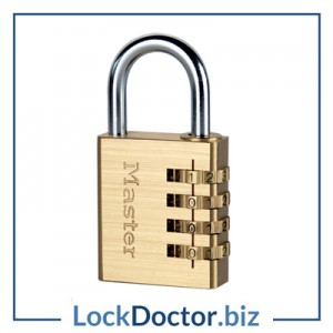 KM604 Masterlock 4 Wheel Combination Padlock