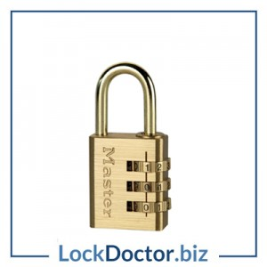 KM630 Masterlock 3 Wheel Combination Padlock