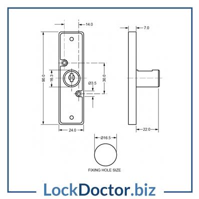 Km5888 Multi Point Cupboard Lock Lock Doctor