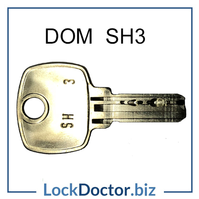 DOM SH3 Lift Key from Lock Doctor Services Ltd