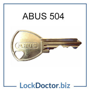 ABUS Padlock Key 504