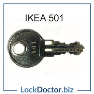 IKEA 501 key