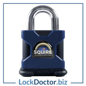 KML13388 SQUIRE SS65S Stronghold Steel Open Shackle Padlock
