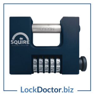 KML15016 SQUIRE CBW85 85mm High Security Combination Sliding Shackle