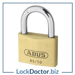 ABUS Brass Open Shackle Padlock