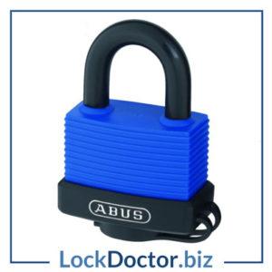 KML24431 ABUS 70IB Series Aqua Safe Marine Brass Open Stainless Steel Shackle