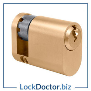 KML6116 EVVA A5 OHZ Half Oval Cylinder