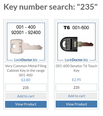 LOCKER  KEY CUT TO CODE NUMBER OFFICE FURNITURE HOME REPLACEMENT KEYS