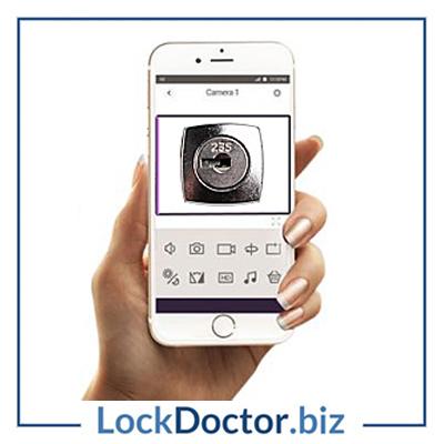 Keys Cut from a photo of a lockface