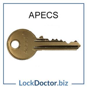 APECS Cylinder Key