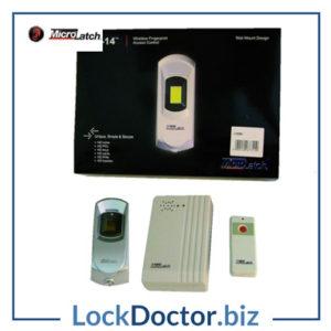KML15004 MICROLATCH ML-PAC-14 Wireless Fingerprint Reader Kit