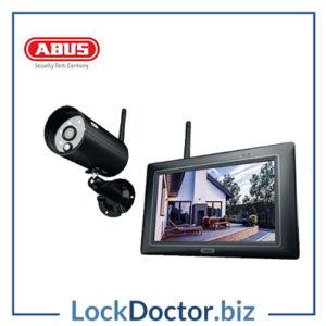 KML21992 ABUS PPDF16000 OneLook Wireless IR Outdoor 7 Inch Touchscreen Surveillance Set