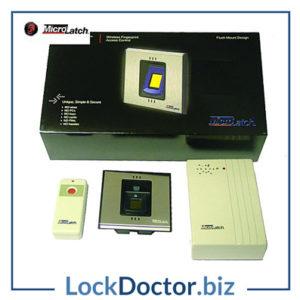 KML15005 MICROLATCH ML-PAC-15 Wireless Fingerprint Reader Kit