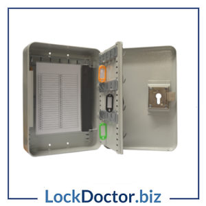 KMAS10428 ASEC Euro Cylinder Operated Key Cabinet
