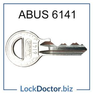 6141 Abus Padlock Key for 60 40 Padlocks Keyed Alike to 6141