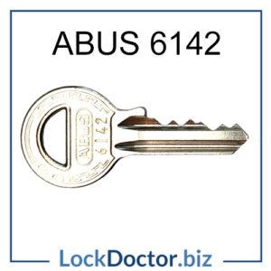 6142KA Abus Padlock Key for 60 40 Padlocks Keyed Alike to 6142